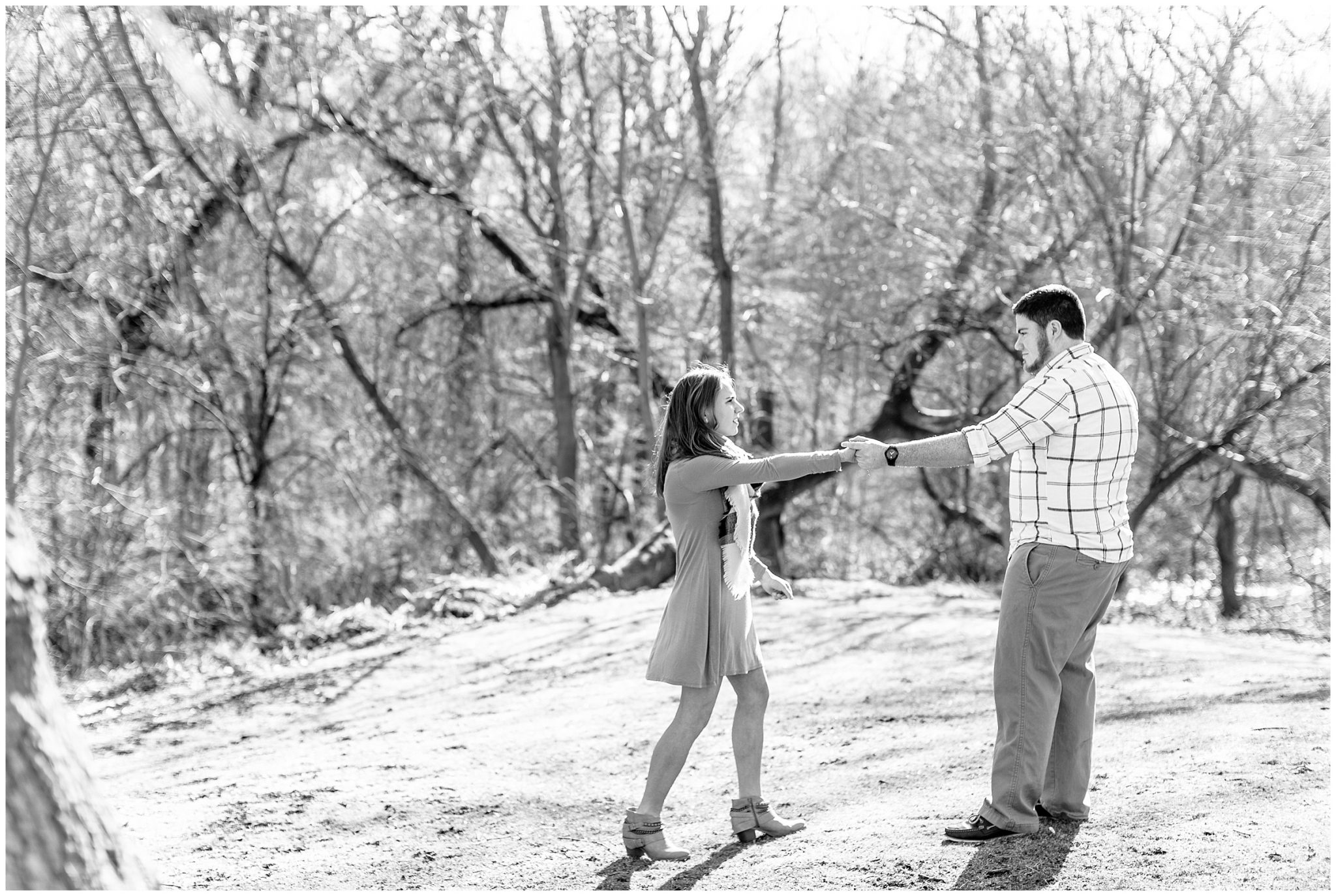 Bird Haven Greenhouse Engagement Session Joilet Illinois_0024