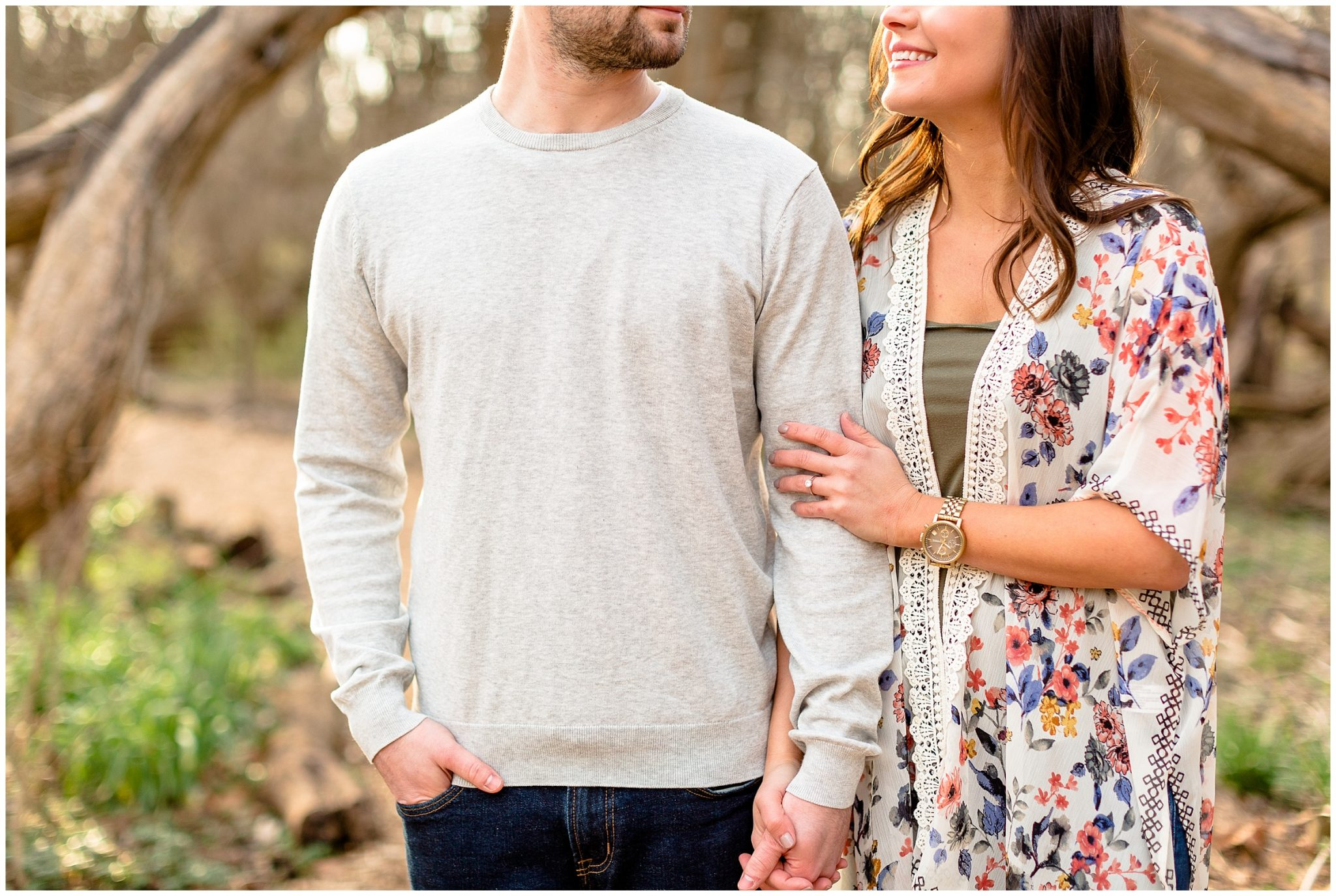 Ewing Park Spring Engagement Session Normal Illinois Fun spring Inspiration_0068