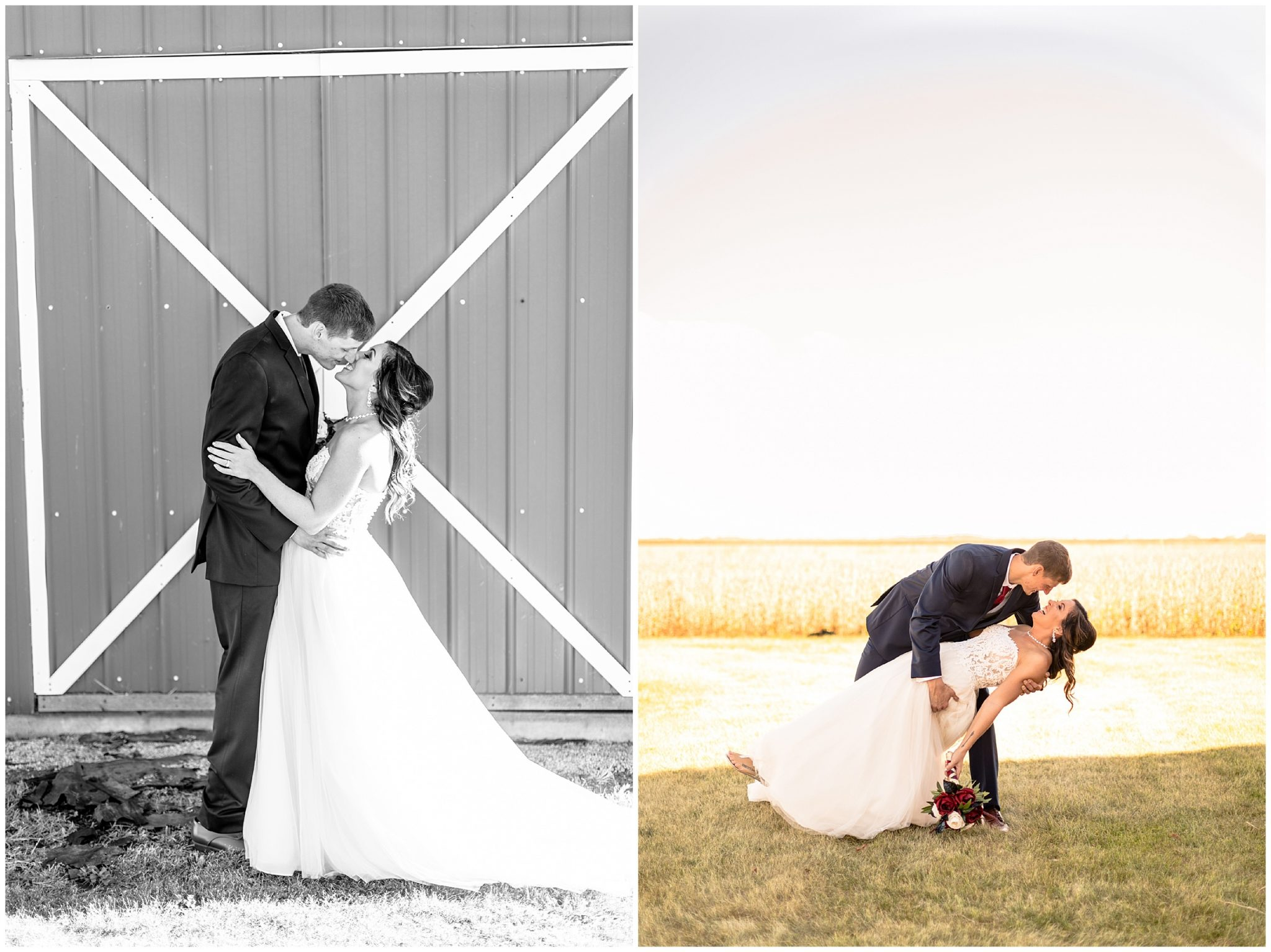 Farmhouse Wedding Clifton Illinois_0210