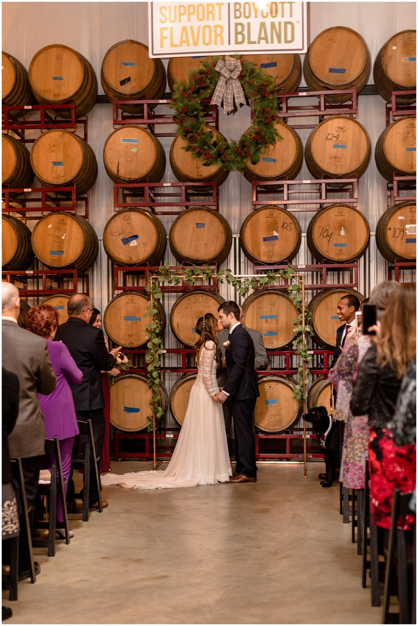 A Desthil Brewery Wedding, Winter Brewery Wedding_0045