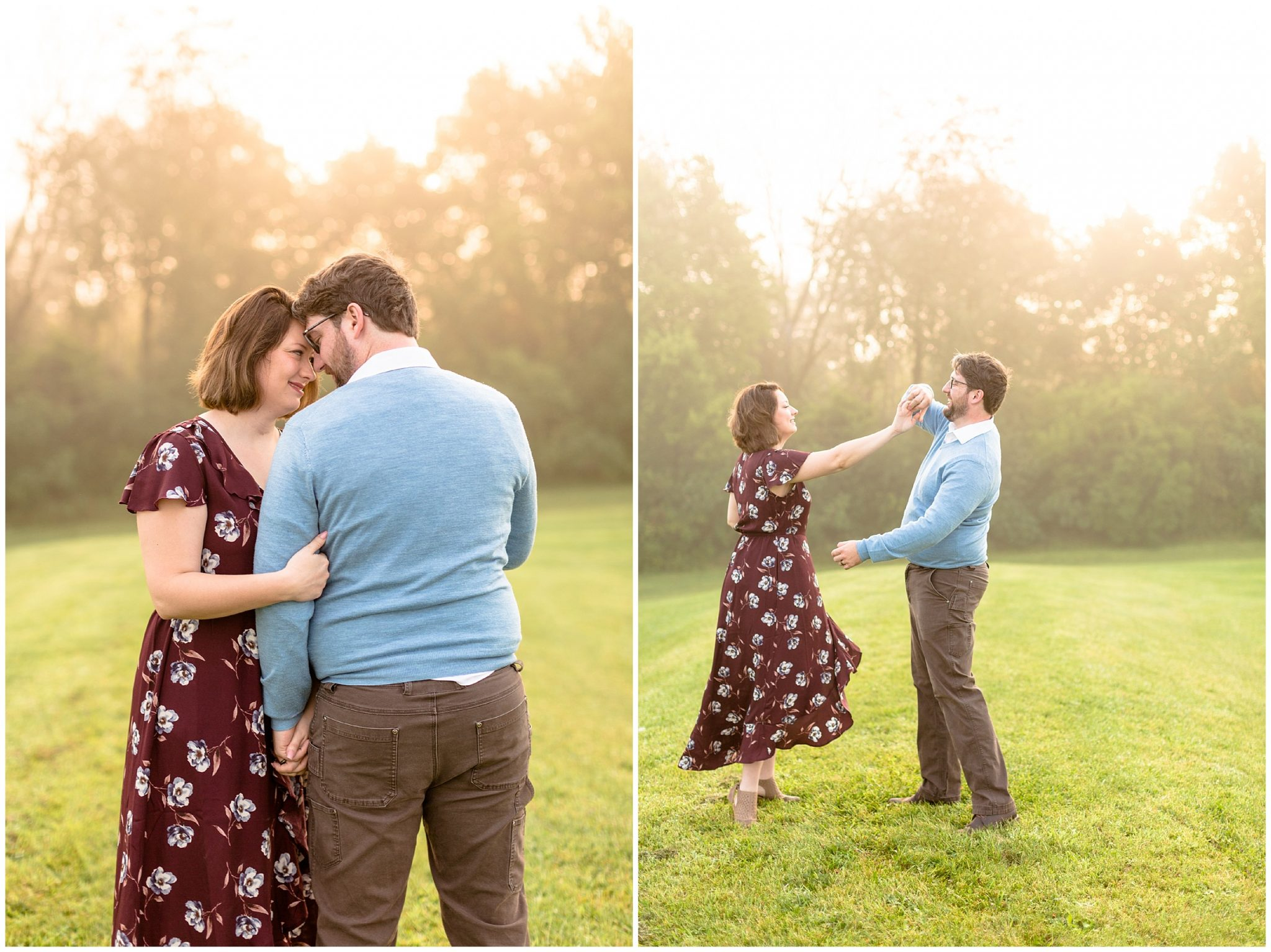 Sunrise Rock Cut State Park Engagement Session_0201
